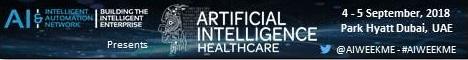 AI Week - Healthcare | 4-5 September 2018 | Dubai, UAE