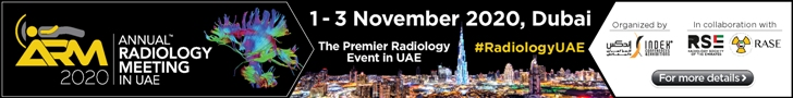 Annual Radiology Meeting in UAE | 1-3 November 2020 | Dubai, UAE