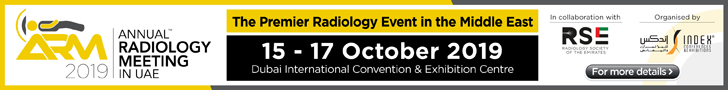 Annual Radiology Meeting |15-17 October 2019 | Dubai, UAE