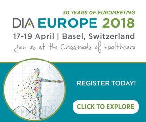 DIA Europe | 17-19 April 2018 | Basel, Switzerland