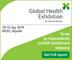 Global Health Exhibition | 10-12 September 2019 | Riyadh, Saudi Arabia