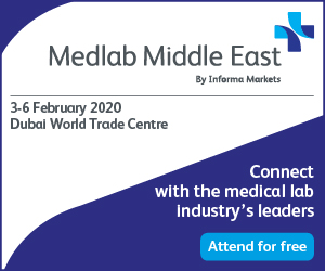 Medlab Middle East | 3-6 February 2020 | Dubai, UAE