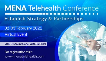 MENA Telehealth Conference | 2-3 February 2021 | Virtual