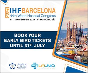 44th World Hospital Congress | 8-11 November 2021 | Barcelona, Spain
