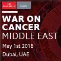 The Economist | War on Cancer | 1 May 2018 | Dubai, UAE