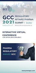 GCC Regulatory Affairs Pharma Summit 2021 | 22-23 March 2021 | Dubai, UAE