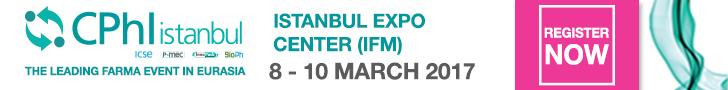 CPhl Istanbul| 8-10 March 2017