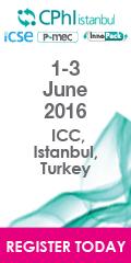 CPhl Istanbul 2016 | 1-3 June 2016