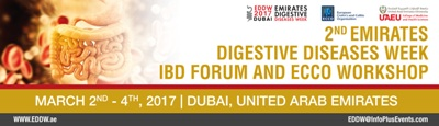 2nd  Emirates Digestive Week, IDB Forum and European Crohn's and Colitis Organization Workshop