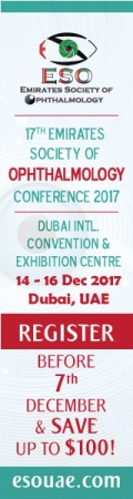 17th Emirates Society of Ophthalmology Conference 2017 | 14-16 December 2017 | Dubai, UAE
