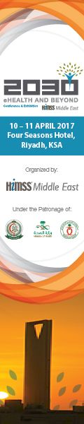2030 eHealth and Beyond | 10-11 April 2017 | Riyadh, Saudi Arabia