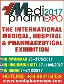 Medi-pharm Expo 2017 (Vietnam)