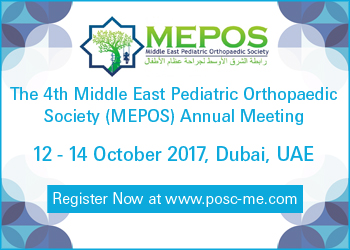 The 4th Middle East Pediatric Orthopaedic Society (MEPOS) Annual Meeting | Dubai, UAE