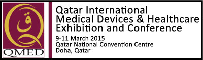 Qatar International Medical Devices & Healthcare Exhibition and Conference | 9-11 March 2015 | Doha, Qatar