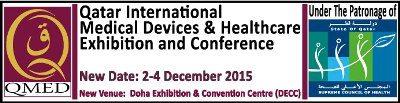 Qatar International Medical Devices & Healthcare Exhibition and Conference | 2-4 December 2015 | Doha, Qatar
