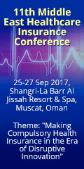 11th Middle East Healthcare Insurance Conference | 25-27 September 2017 | Muscat, Oman