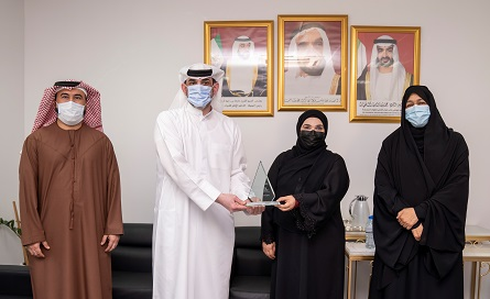 Al Ain nursing department awarded for outstanding quality of care