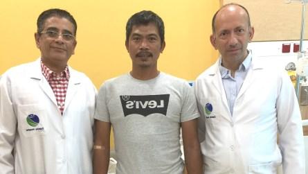 Critical hemorrhage case treated successfully in Zulekha Hospital Sharjah, UAE