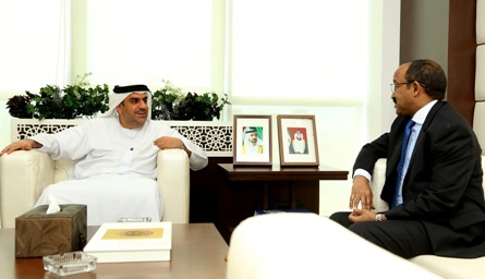 Undersecretary of the Ministry of Health and Prevention and Ethiopian Ambassador to the UAE holds meeting to discuss joint health initiatives
