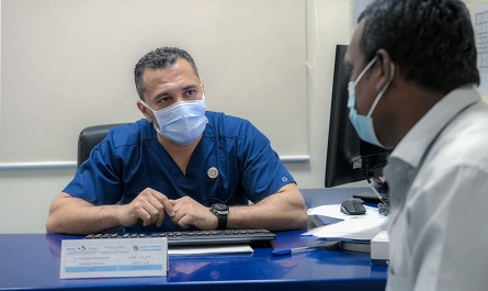 Madinat Zayed Hospital successfully treats a patient with rare necrosis