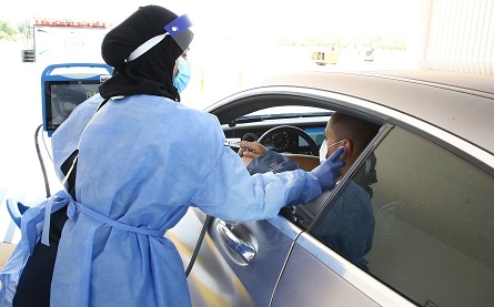 Abu Dhabi Health Services Company  announces the opening of the SEHA COVID-19 drive-through services center in Rabdan