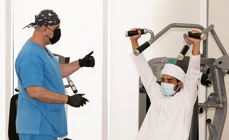 SEHA reopens the rehabilitation department at Al Ain Hospital