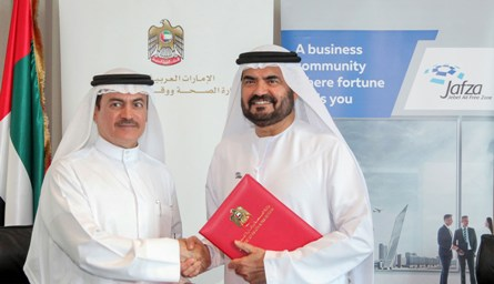 UAE Ministry of Health & Prevention partners with Jafza to develop pharmaceutical sector
