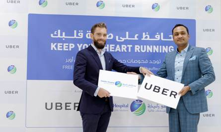 Zulekha Hospital and Uber collaborate to encourage healthy hearts
