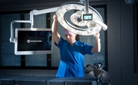 The New Merivaara Q-Flow surgical light offers new way to reduce the risk of hospital infections​